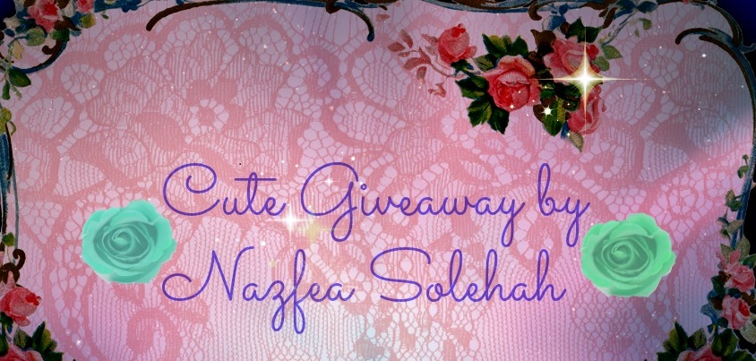 Giveaway By Nazfea Solehah