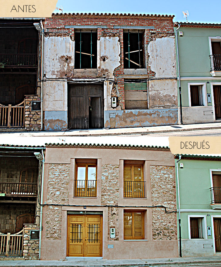 Reformas de casas antiguas antes y despues antes y despus de un piso en valencia with reformas - Reformas de casas antiguas ...