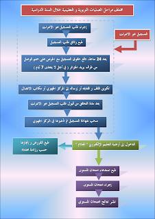 مخطط التسجيل في المراسلة الجزائر