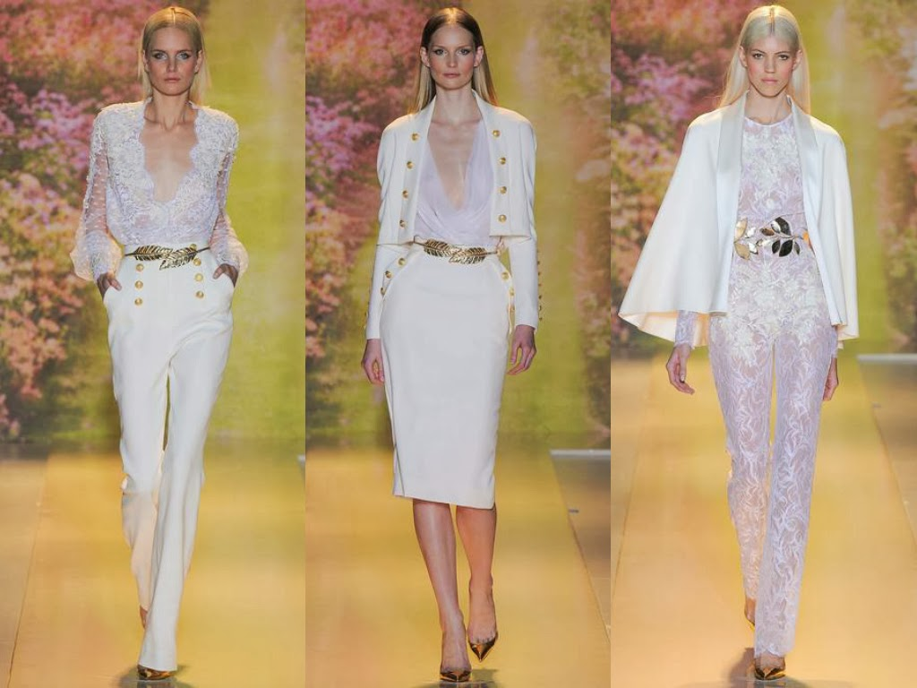 zuhair murad spring 2014 all white looks