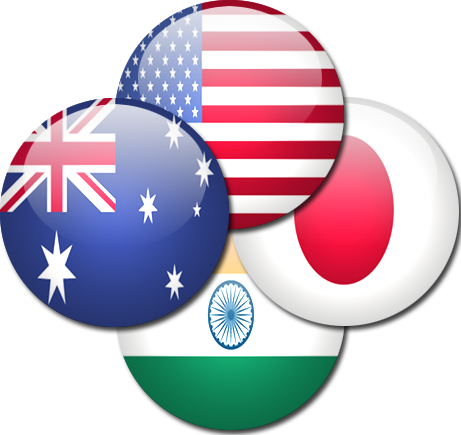 Image result for quad india us japan
