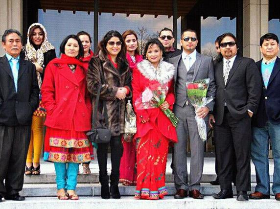 Malvika subba wedding