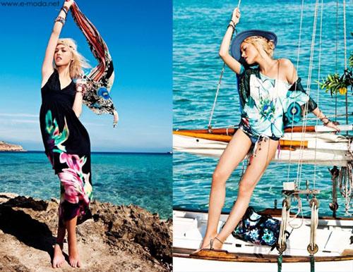 Vestidos largos Desigual verano 2013