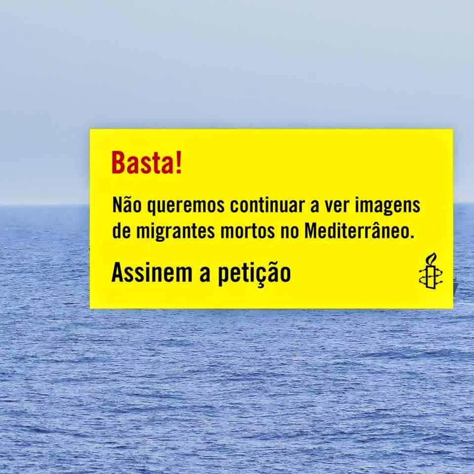 Assine: ajude a acabar com a morte e sofrimento nas fronteiras europeias