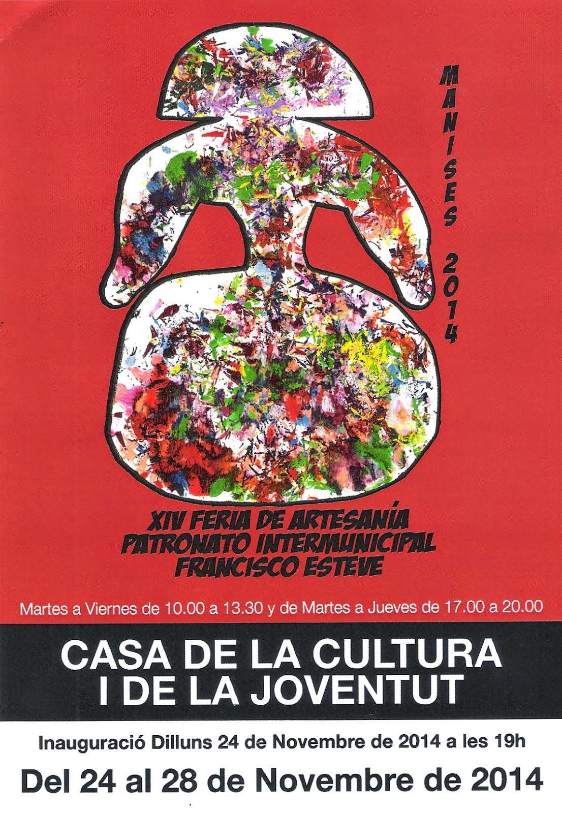EL PATRONATO FRANCISCO ESTEVE CELEBRA SU XIV FERIA DE ARTESANÍA.