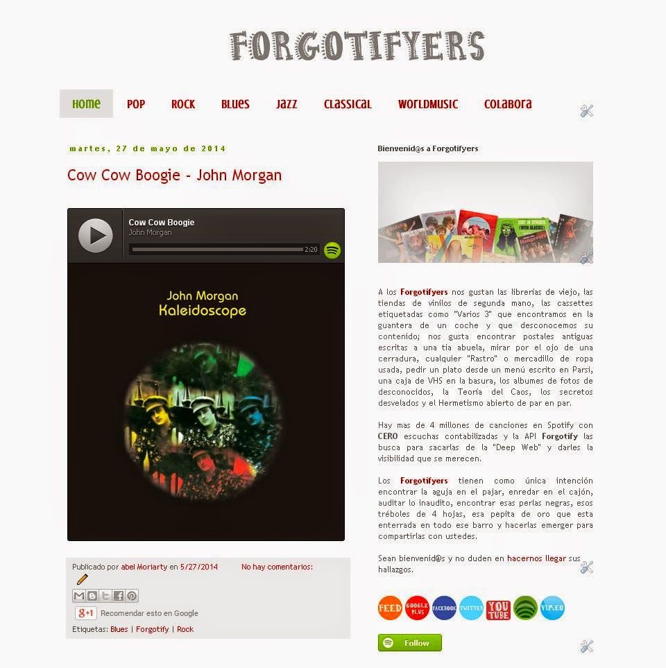 Cierran Blogs, se abren Blogs... Forgtifyers | LasMilVidas