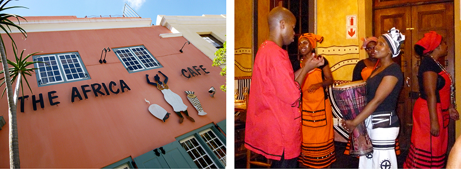 Ynas Reise Blog | Südafrika | The Africa Cafe - ein fantastisches Restaurant