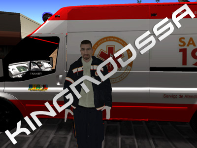 Skin Médico SAMU - GTA SA