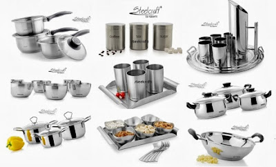 Deep Discount Offer: Premium Quality Steel Kitchen Utensils with 24% Off + Additional 16% Festival Discount (Free Home Delivery