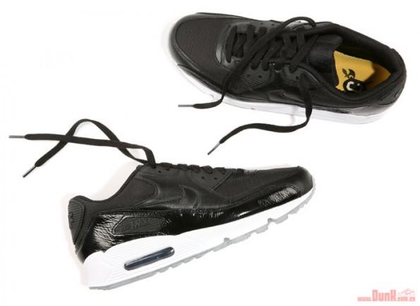 buy online 6f974 62f3d ... new zealand nike air max 90 premium qs cbf black patent leather 8b596  7c429