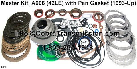 Cobra Transmission Parts 1 800 293 1848 A606 42le