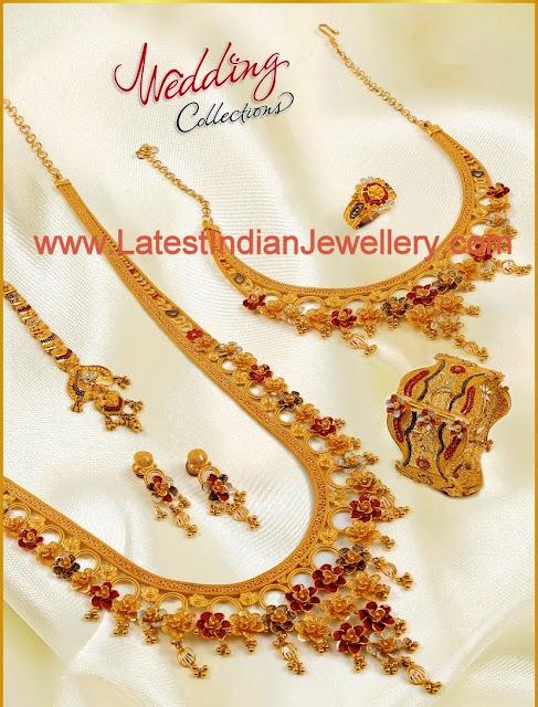 Gold Wedding Jewellery Set