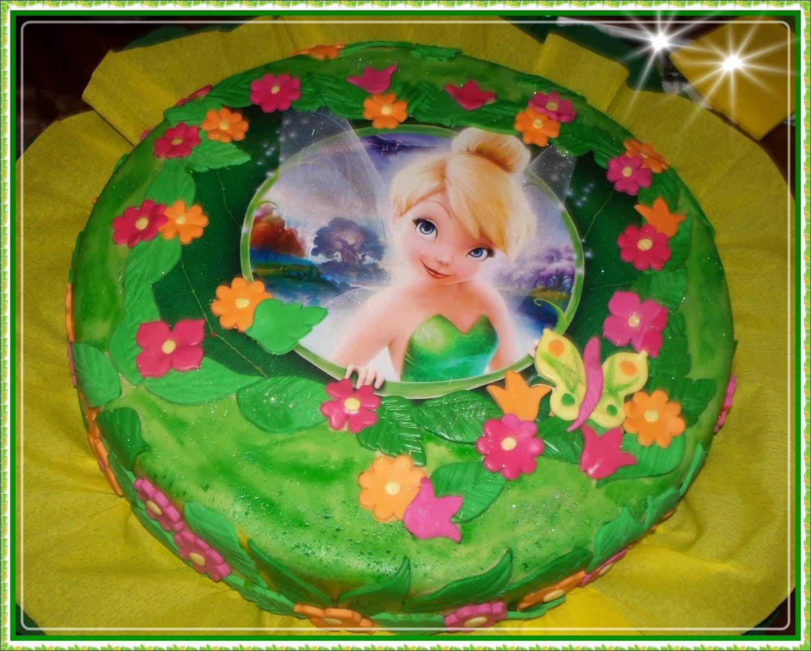 Tortas de cumpleaños de tinkerbell - Imagui