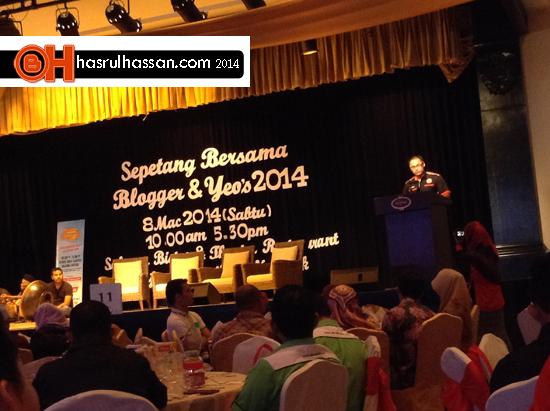 #sbb2014 #sbbyeos2014 - Sepetang Bersama Blogger dan Yeos 2014