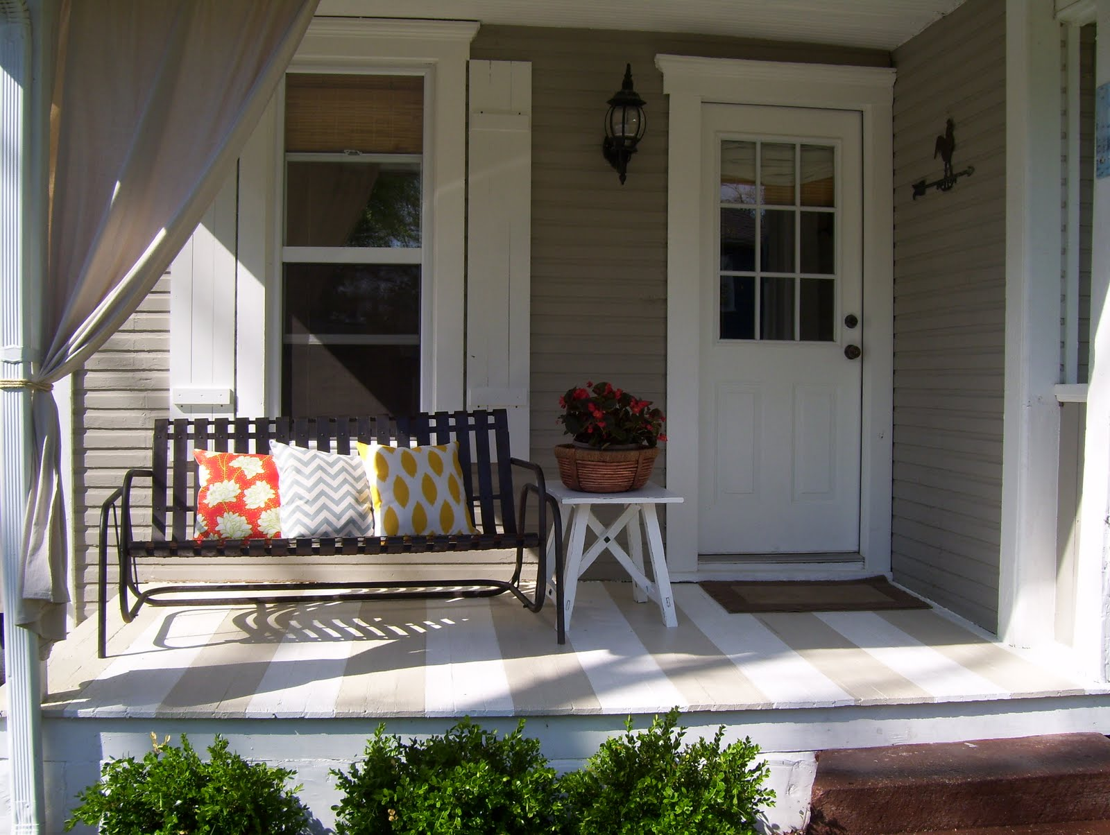 vintage home love: Front and Side Porch Redo