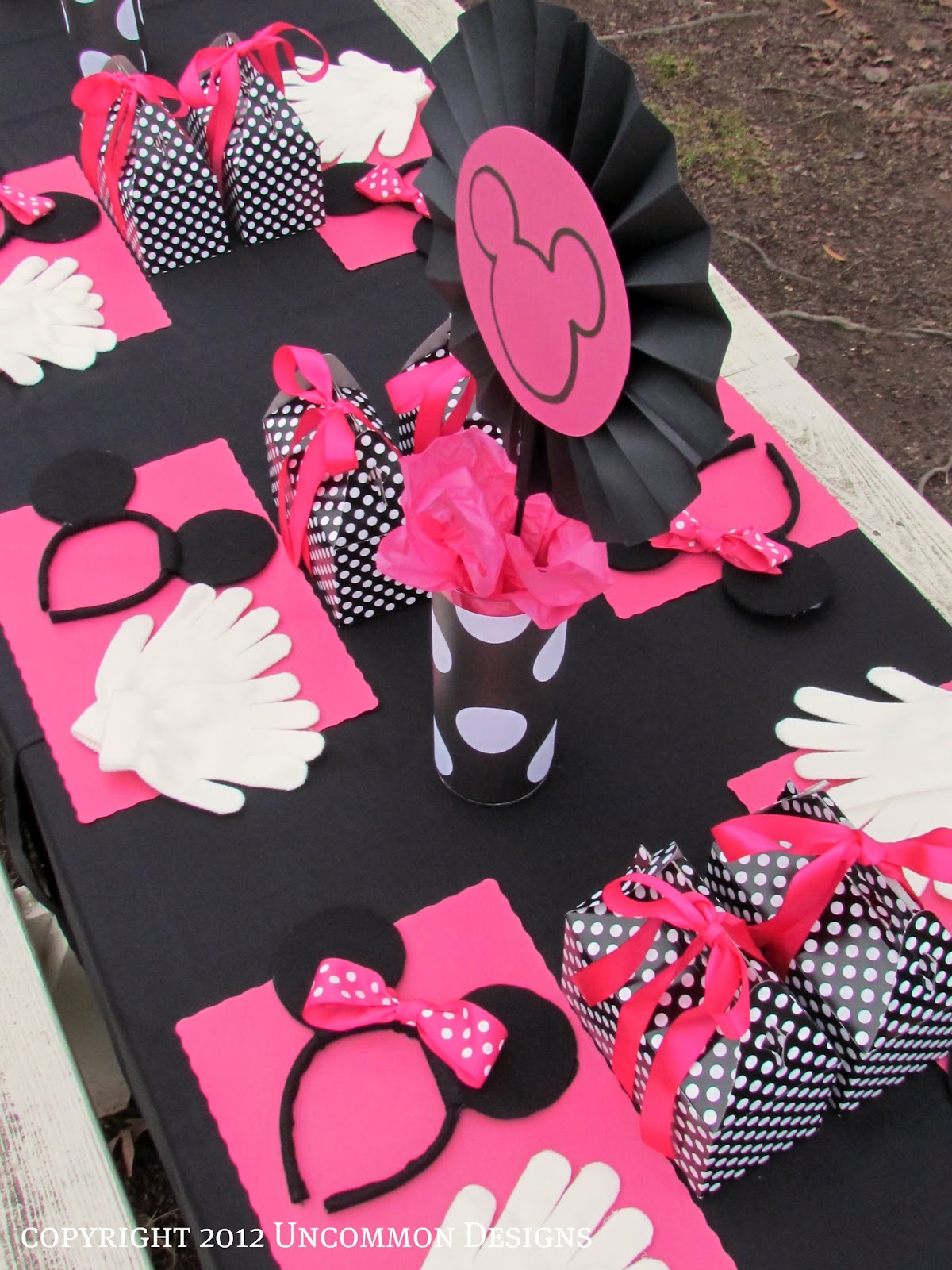 A Minnie Mouse Birthday Party