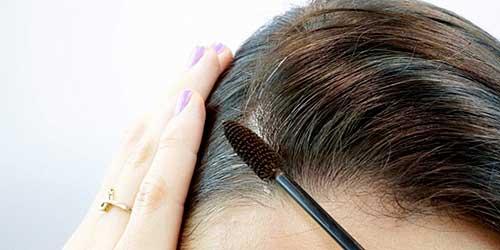 Aplicar maquillaje pelo