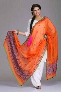 Phukari orange suit