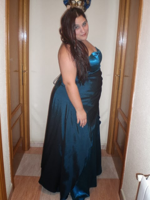 Vestidos largos de fiesta talla 58 vertize gala