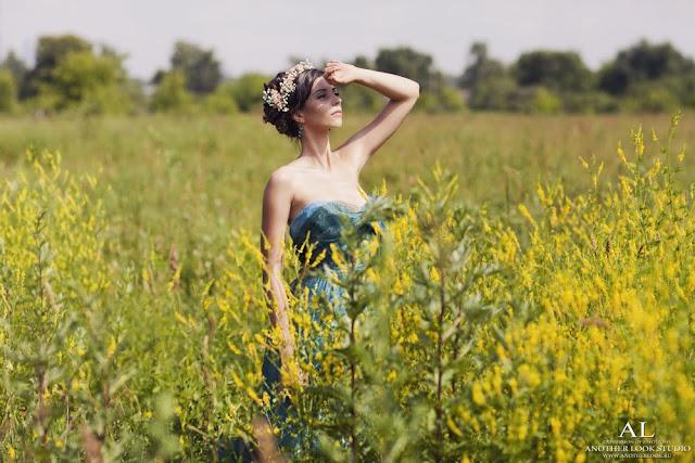 фотосессия в поле