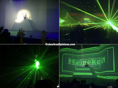 Ferry Corsten at Heineken New Bottle Launch Party 2012 KL Live Malaysia