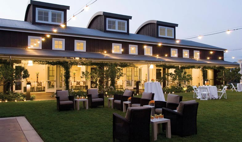 Luxury hotels best food and wine cities for Farm at carneros inn