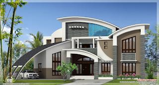 Desain Rumah Yang Unik dan Nyentrik Terbaru