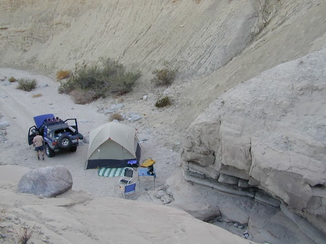 best desert camping Socal