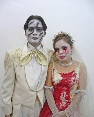 Les aventuriers de la vie Un mariage sur le thème des zombies !