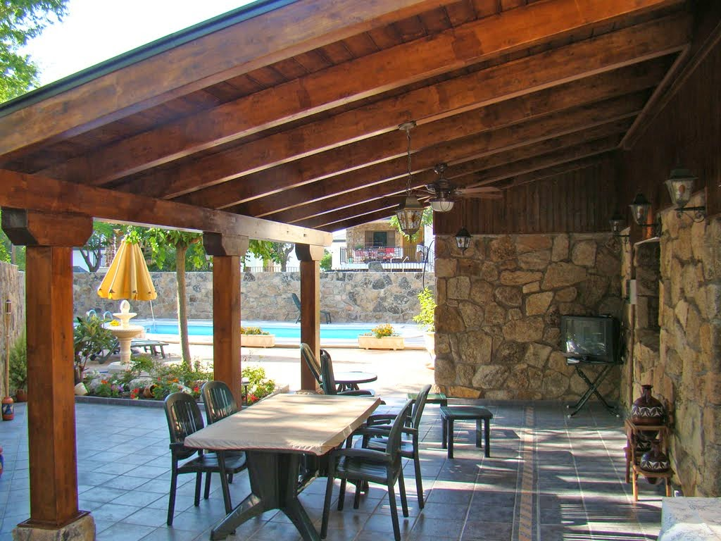 Porches y cenadores reformas en vitoria gasteiz y lava - Porches para jardin ...