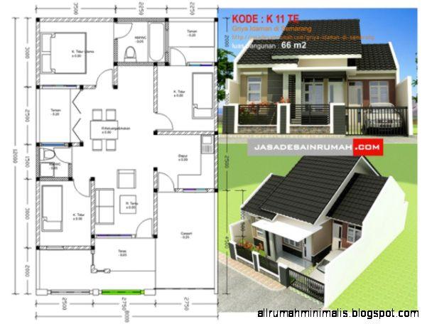 Gambar Sketsa Denah Rumah Impian