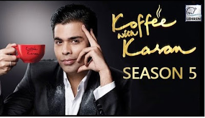 Poster Of Koffee With Karan 4th December 2016 Season 05 Episode 05 300MB Free Download