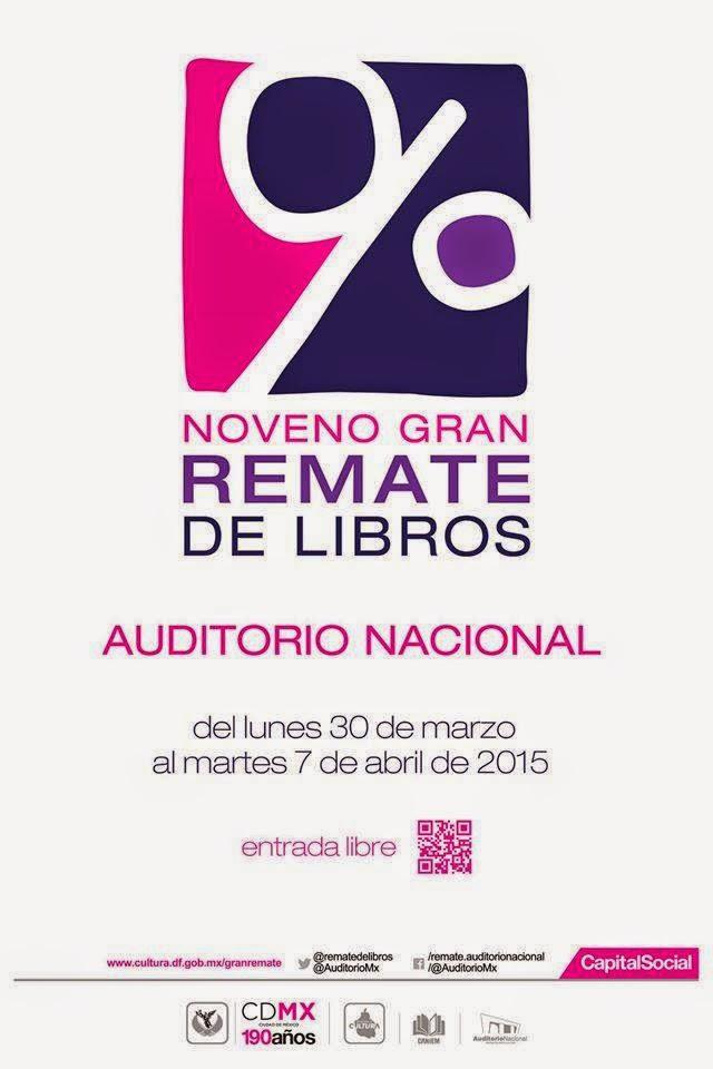 El Gran Remate de Libros en el Auditorio Nacional celebra su novena edición
