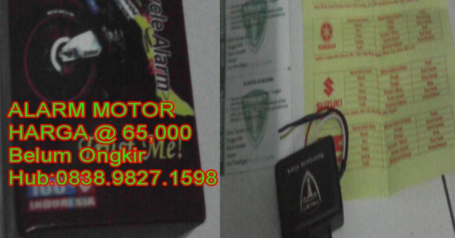 Harga Jual Harga Alarm Motor Panastar Murah - Alarm Motor ...