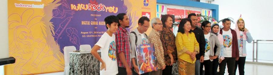 Peluncuran Film Animasi Televisi Kukurockyou