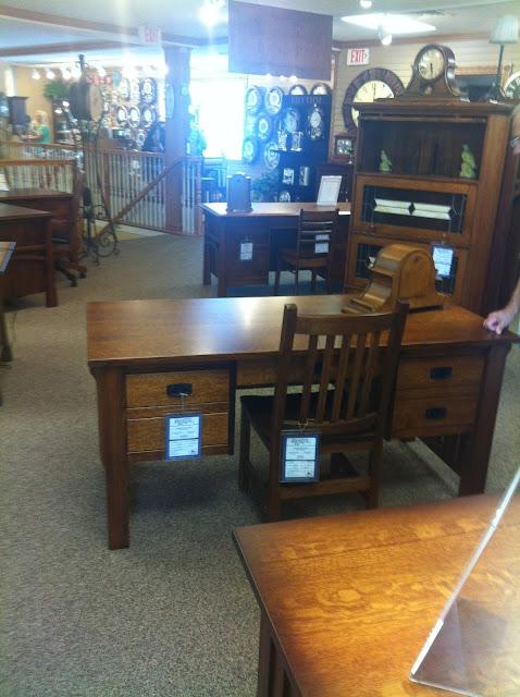 Desk at Shipshewana