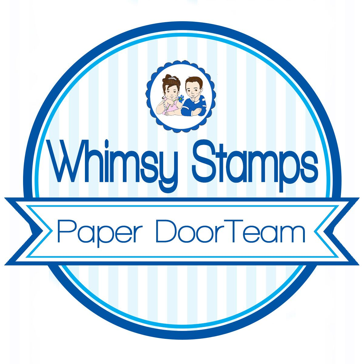 Whimsy Stamps Paper Door DT