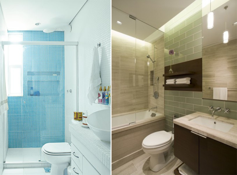 ARK  Arquitetura Projetando Banheiros Pequenos  ARK Blog dá a dica! -> Banheiros Muito Simples