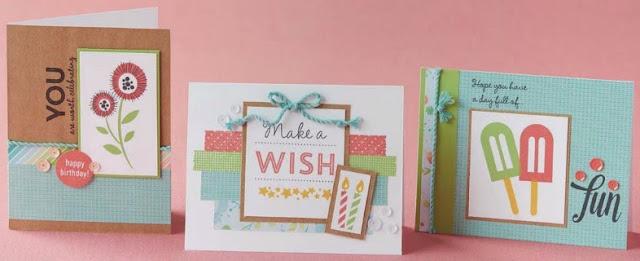 Blossom card kit cards
