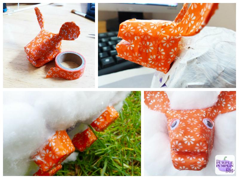 Easter Lamb Craft with Cadbury Dairy Milk Egg'n' Spoon