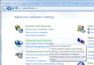 Melihat Kembali Recover Password Wifi Hotspot di Windows Control Panel