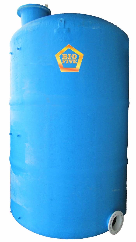 Tangki Air Silinder Fiber