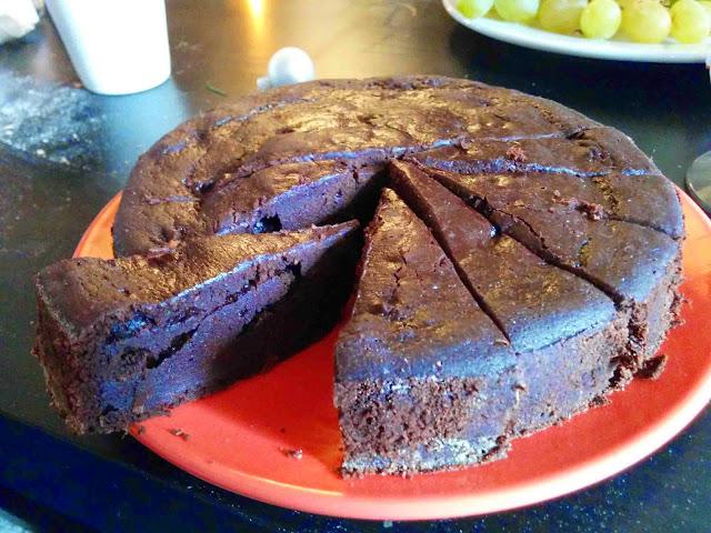 Gâteau au chocolat sans complexe !