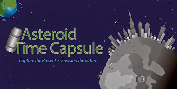 NASA's OSIRIS-REx mission launches Asteroid Time Capsule -- a mission to collect ideas from the public about space exploration 10 years from now. Image Credit: Heather Roper/University of Arizona/OSIRIS-REx