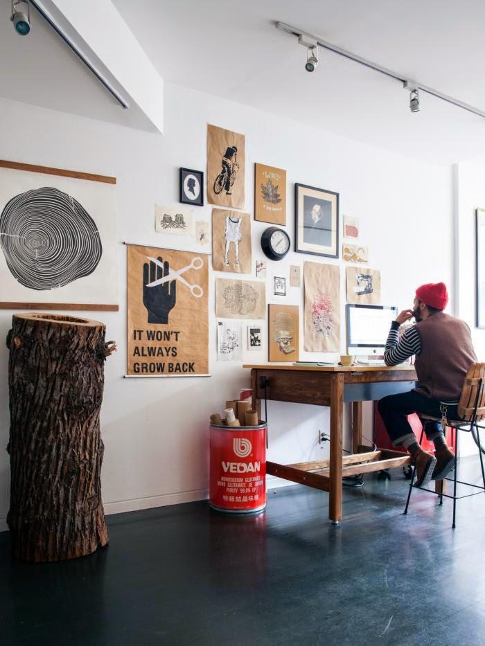 Unkompliziertes Wohnen in New York - Mix aus Mid-Century Design und IKEA