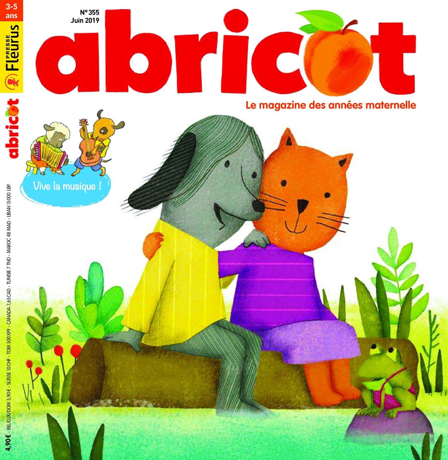 Abricot juin 2019: Le petit pull rayé de Lalotte