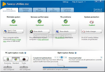 tuneup utilities 2012, software