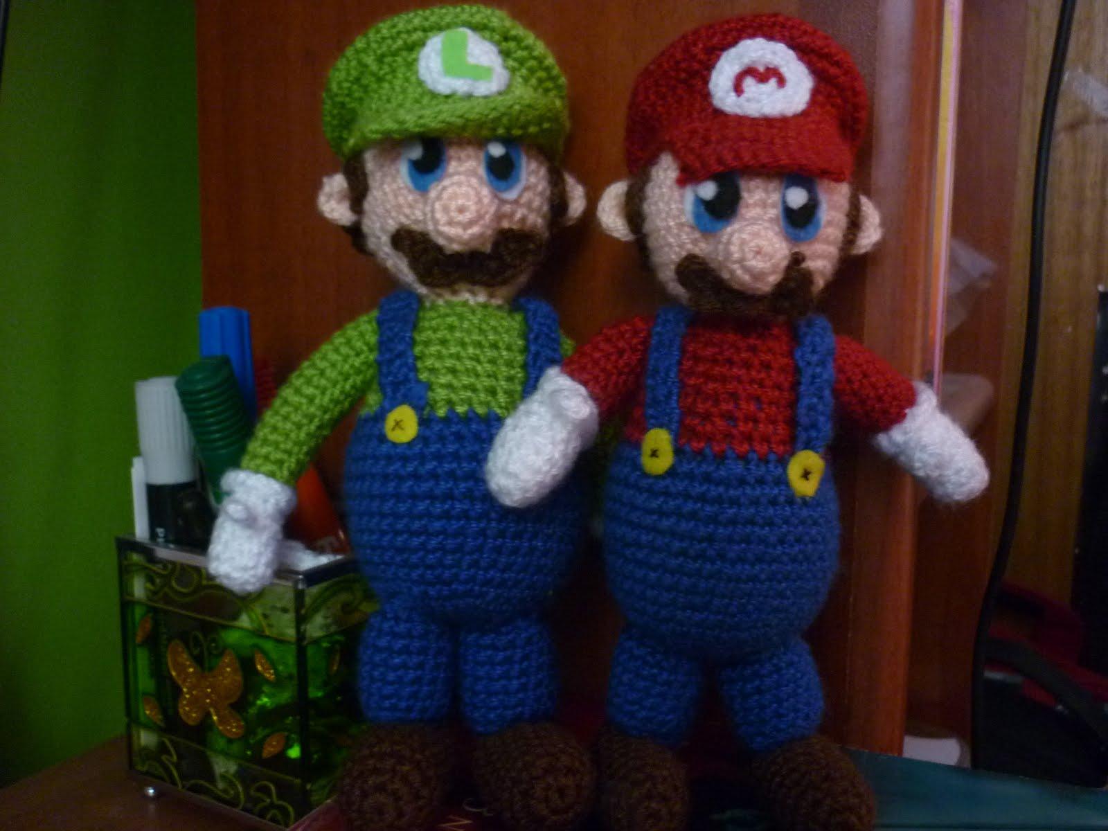 Amigurumi Mario Y Luigi : Dolce Illusione