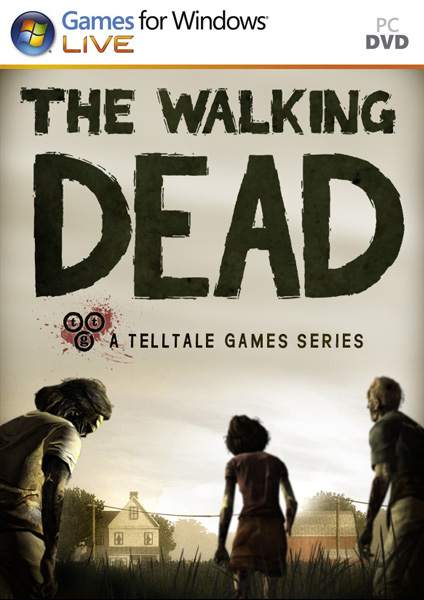 The Walking Dead Episode 1 PC Game (cover)