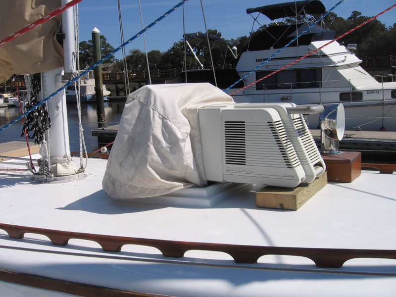 Whispering Jesse Sailing Blog By John Lichty Air Conditioning